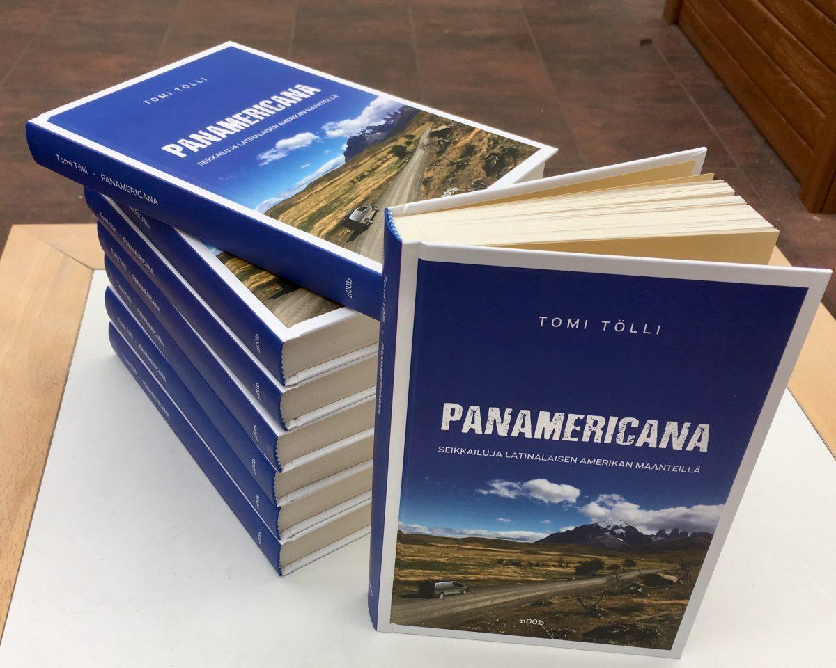 Panamericana on nyt julkaistu myös e-kirjana