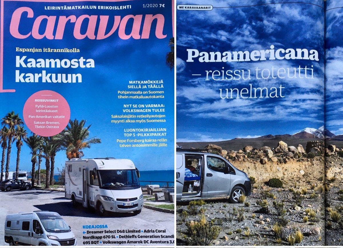 Panamericana-kirjan seikkailut esillä lehdistössä