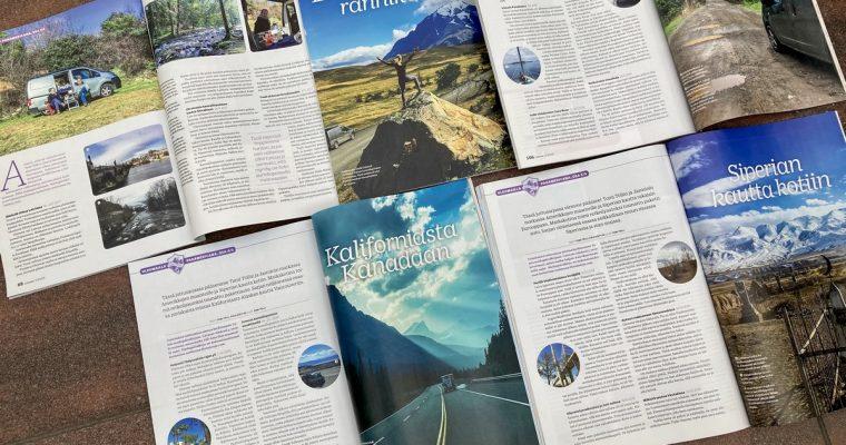 Länttä ja itää -kirjan Siperian tarinat esillä Caravan-lehden numerossa 6/2020